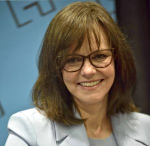 Women over 50 hairstyles - Sally Field with medium length hairstyle