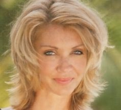 Women over 50 hairstyles - Medium length hairstyle on older woman