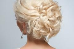 Blonde Updo