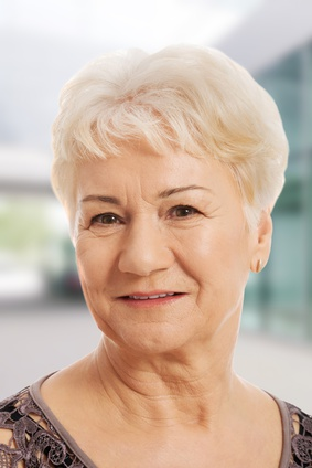 Short hairstyle woman over 50